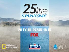 """""""25 LİTRE: SUYUN PEŞİNDE"""" FOX İZLEYİCİLERİYLE BULUŞUYOR"""