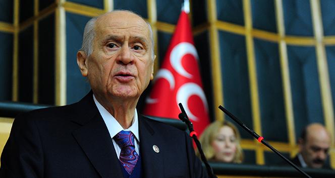 Bahçeli: 'Bizim ABD'den beklentimiz Türkiye'yi küçük görmemesi, küçümseme yanlışına düşmemesidir'