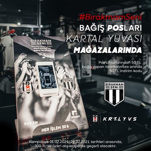 BIRAKMAM SENİ KAMPANYASI KARTAL YUVALARI'NDA