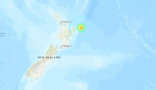 Son Dakika… Yeni Zelanda açıklarında 8.1 büyüklüğünde deprem!